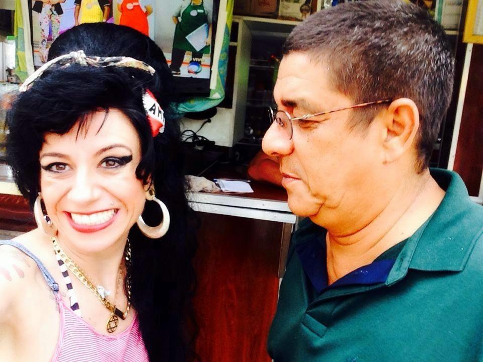 Zeca Pagodinho & Sósia Amy Winehouse