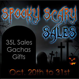 Spooky Scary Sales - 35L Event