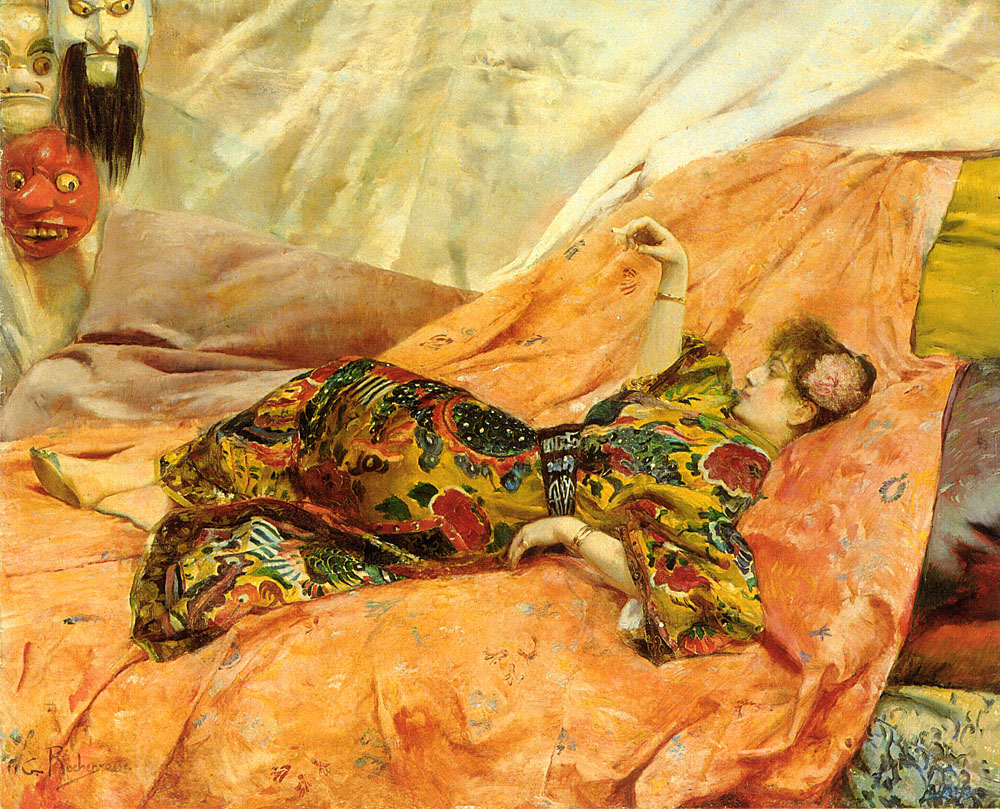 Sarah Bernardt portrait rochegrosse