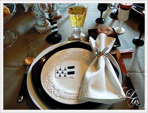 décoration de table bretonne #4