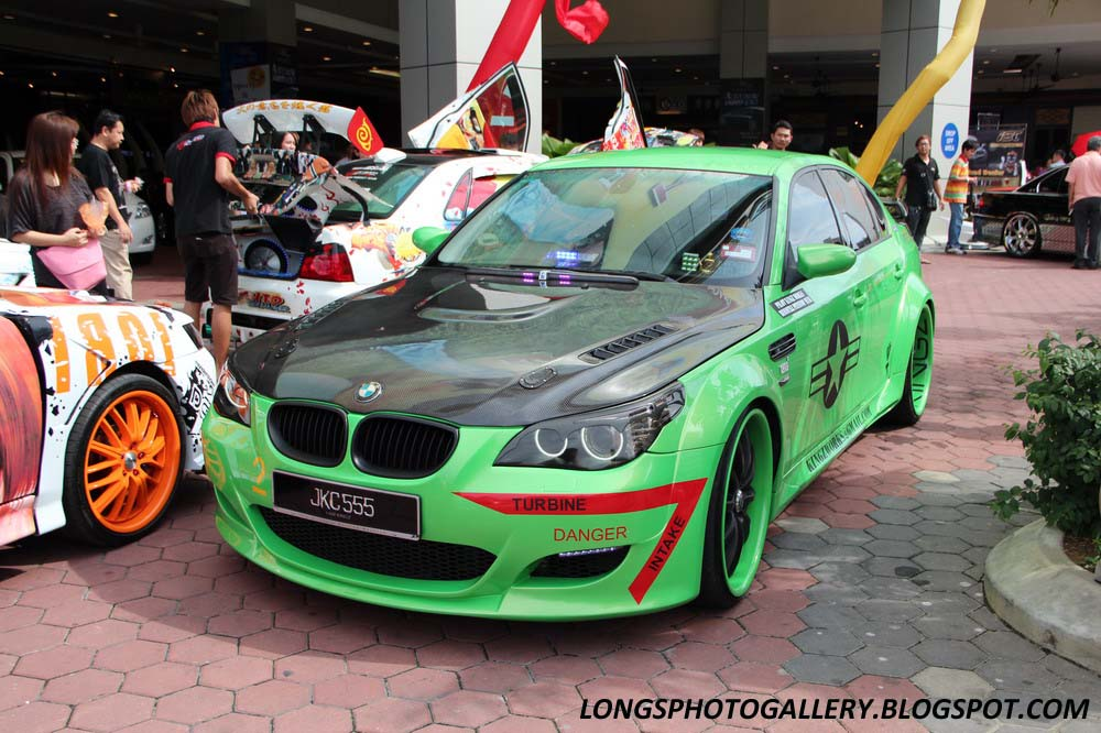 Modified BMW E60 5-Series