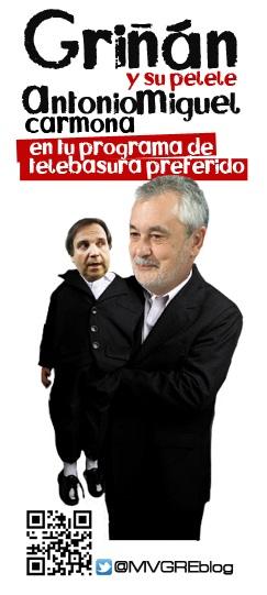 """Antonio Miguel Carmona PSOE el """"teledirigido"""""""