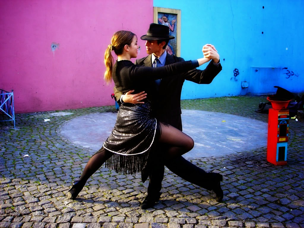 Tango Dance in Streets HD Photos