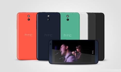Al MWC 2014 presentato Htc Desire 610 smartphone di fascia media android