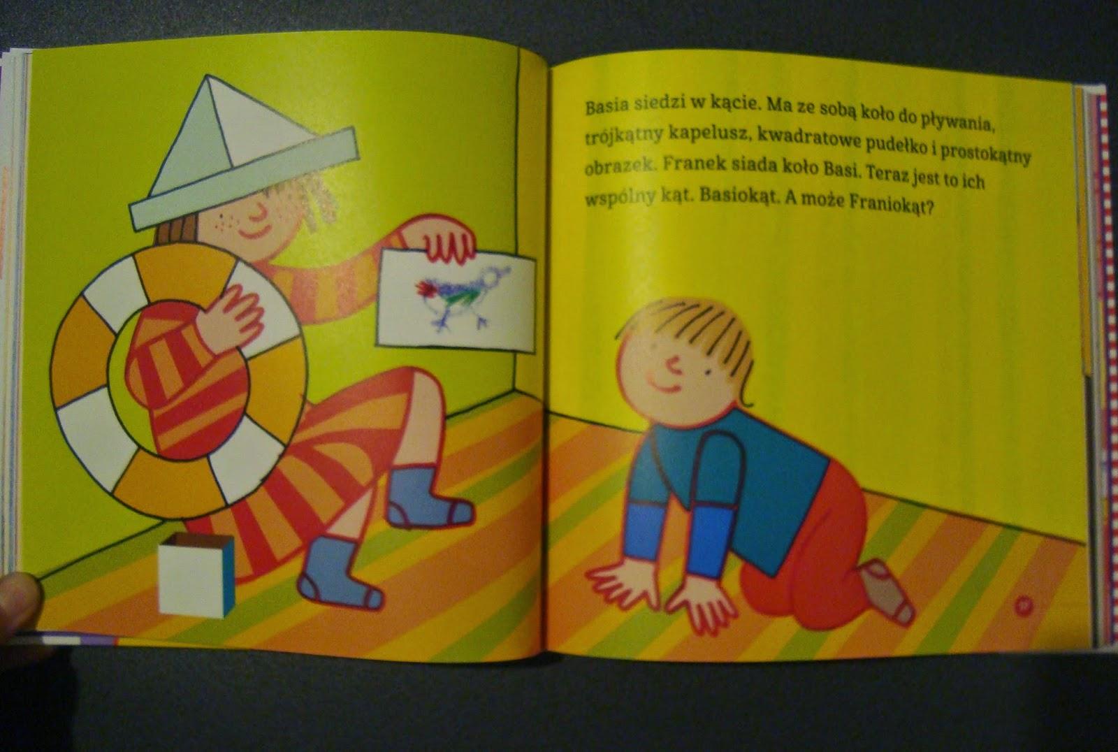 Wielka księga Basi i Franka, Egmont, książka dla najmłodszych