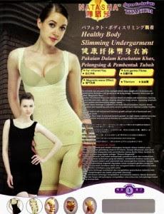 Kelebihan Natasha Slimming Suit Original Baju Pelangsing Badan Asli Dan Murah