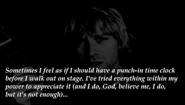 Kurt Cobain's last words