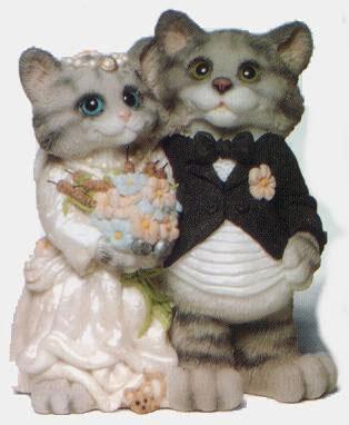 funny cat wedding