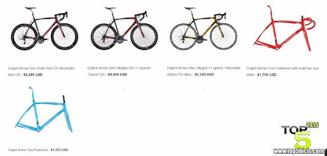 CULPRIT ARROW ONE, gran bici a muy buen precio