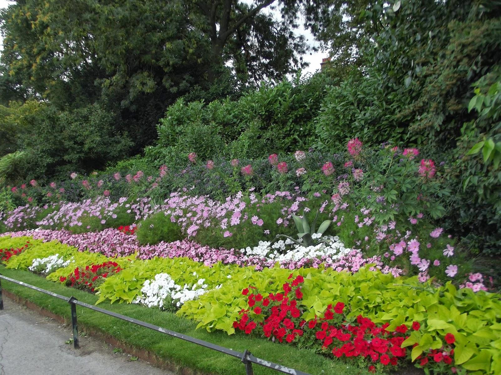Flower Beds  Regents Park