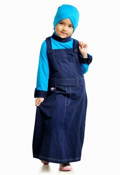 Model Terbaru Baju Gamis Anak Perempuan 2014 Trend