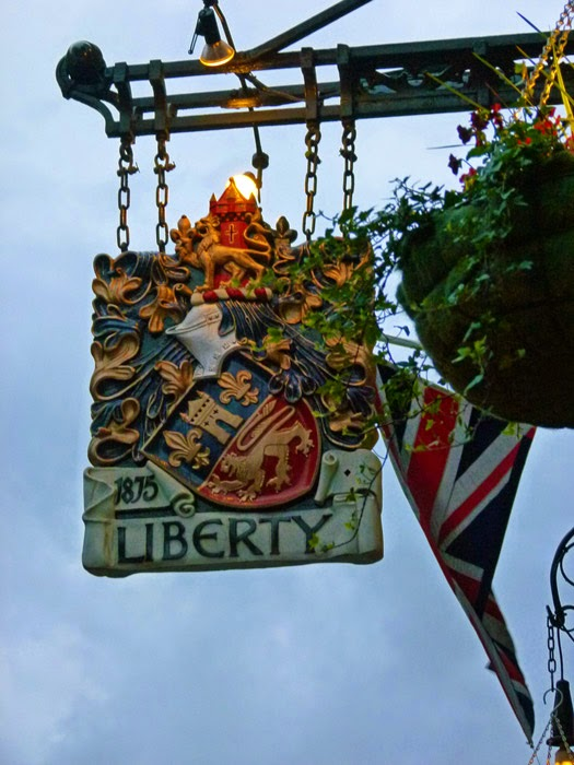 Liberty of London, British shops, Regent Street, West End, London