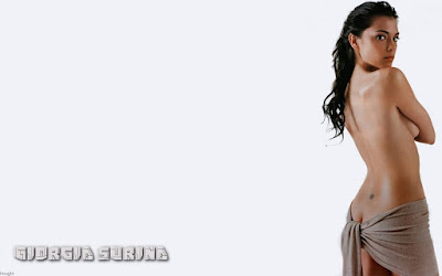 Giorgia Surina Topless Wallpaper