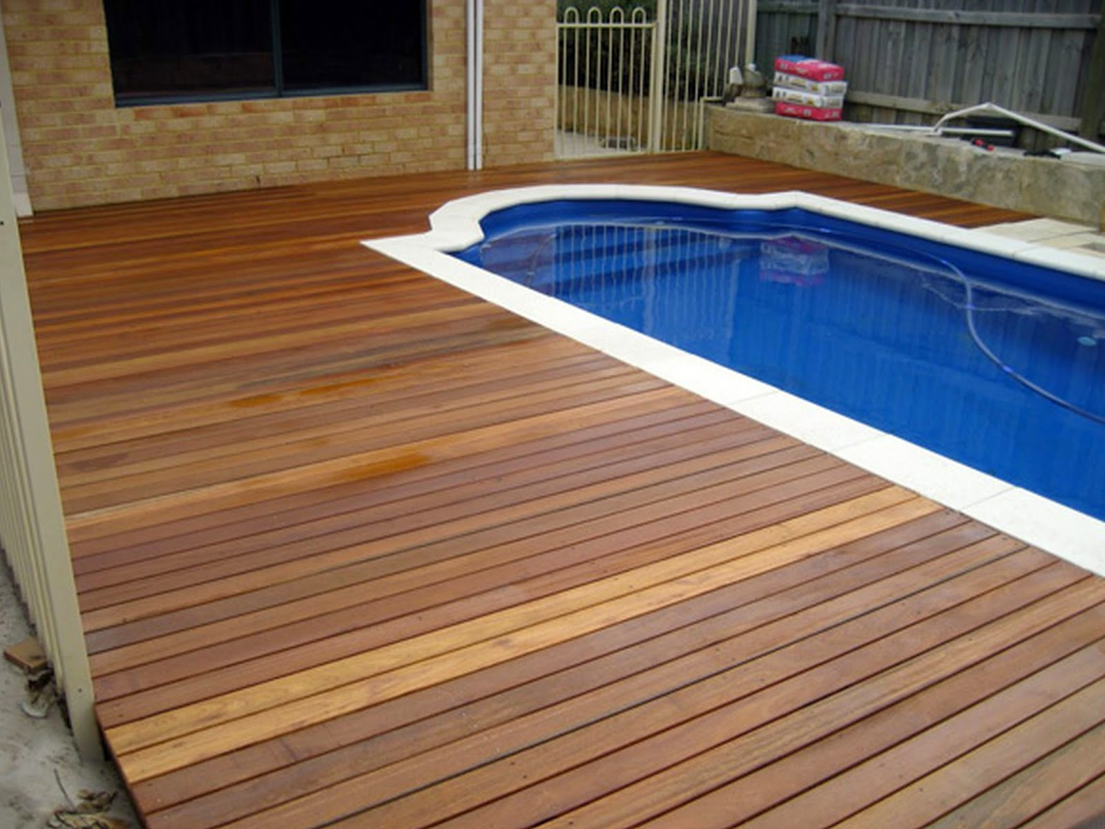 Wood Pool Deck Ideas Amazing Modern Pool Deck Design For Swimming Pool  Design Ideas
