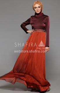 Koleksi Baju Muslim Gaun Modern untuk Remaja Muslimah 2016