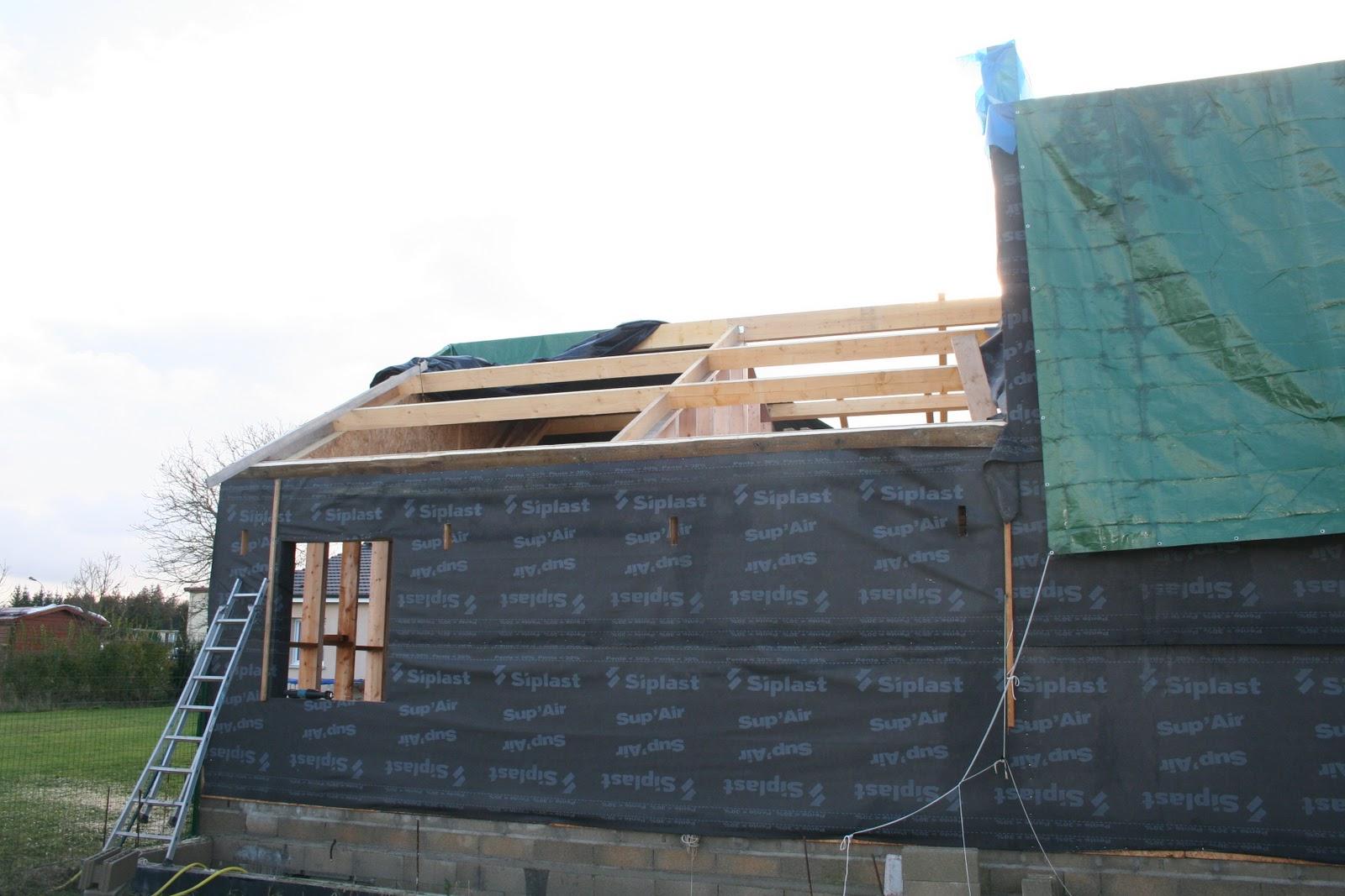 Chronique d 39 une construction de maison en paille ossature - Probleme maison ossature bois ...