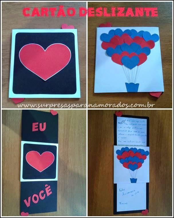 cartão criativo dia dos namorados