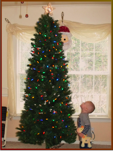 """Never worry about the size of your tree.  In the eyes of children, they are 30 feet tall."""