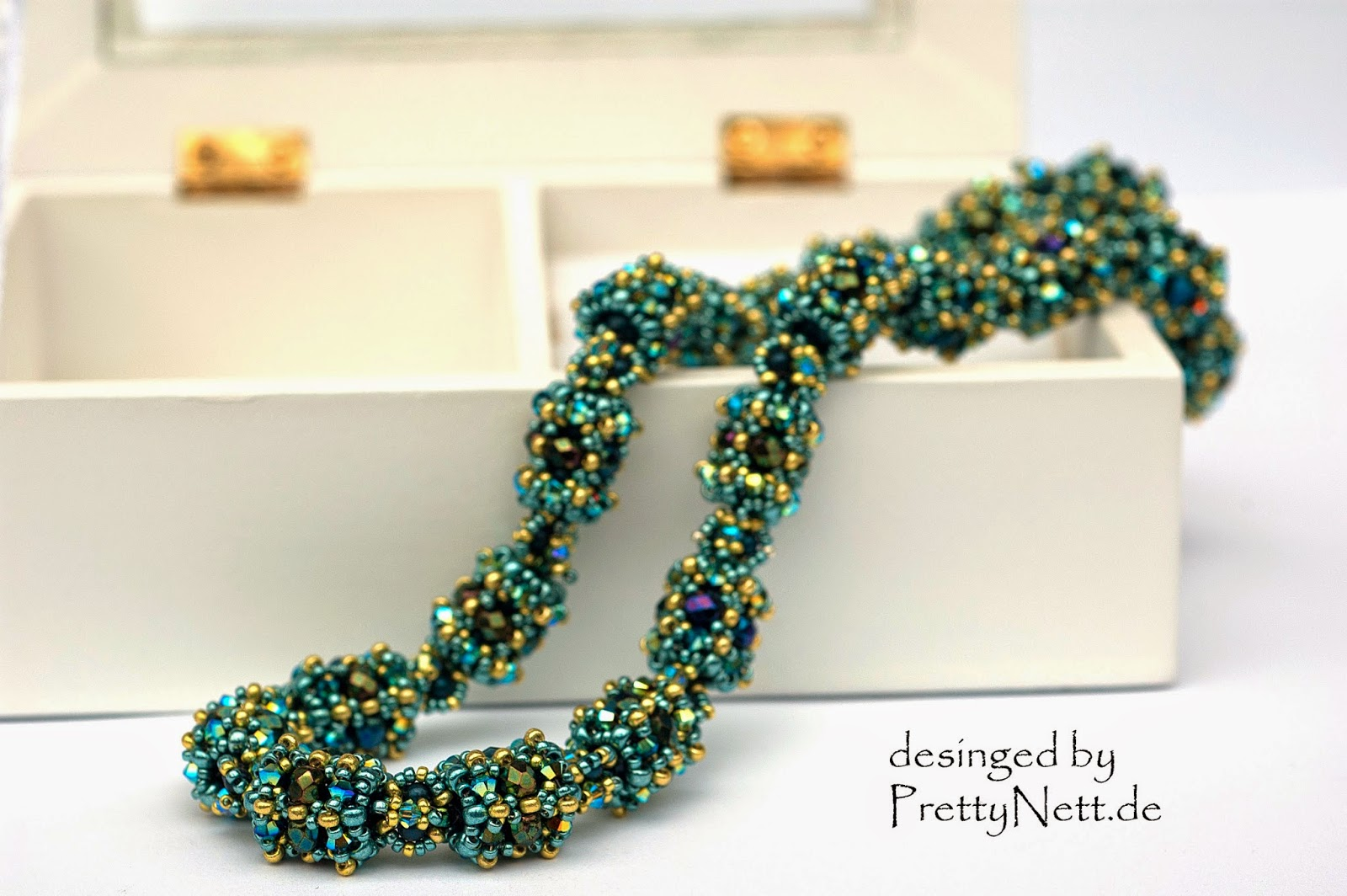 """Beading Pattern for necklace """"Milou"""""""