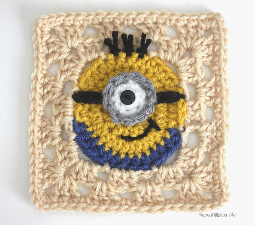 Crochet Pattern Minion : Hopeful Honey Craft, Crochet, Create: Free Minion ...