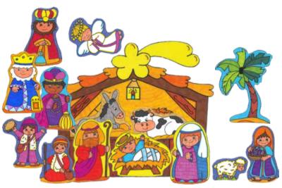 Actividades para educaci n infantil belenes para imprimir - Dibujos de belenes ...