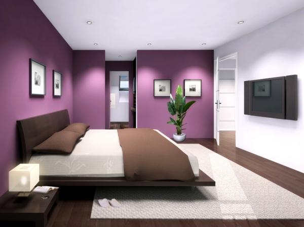 habitaciones decoradas con color violeta o p rpura decorar tu habitaci n. Black Bedroom Furniture Sets. Home Design Ideas