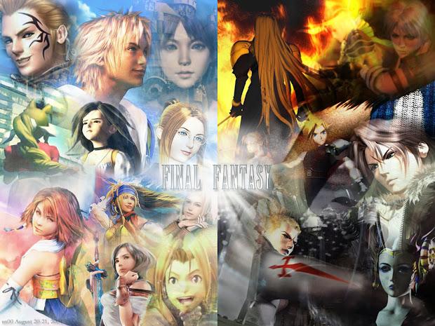 Kumpulan Game Final Fantasy ( Ps1 Ps2 PSP ) High Compressed