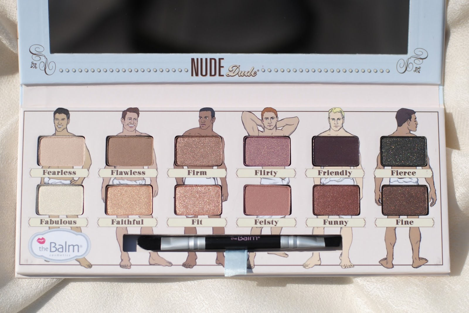 the balm nude dude fearless flawless firm flirty friendly fierce fabulous faithful fit feisty funny fine