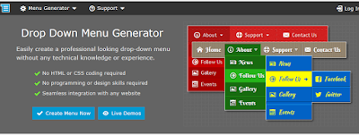 Fig. Drop down menu generator for blog
