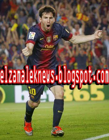 ليونيل ميسي صانع ألعاب برشلونة الأرجنتيني الدولي