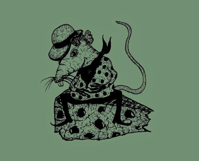 Rat Gouzier     15x10,5 cm