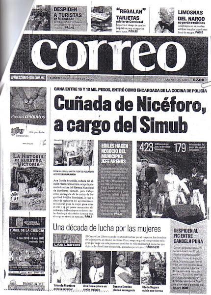 Simub  H Ayuntamiento Guanajuato cuñada Nicéforo Guerrero