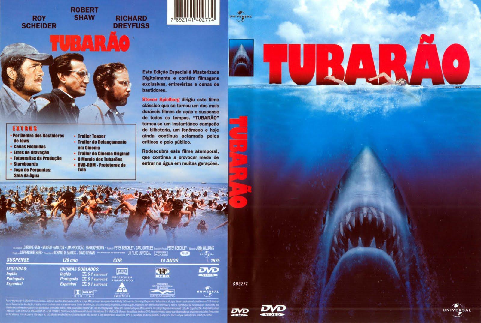Quadrilogia Tubarão DVDRip XviD + RMVB Dual Audio e Dublado Tubar 25C3 25A3o