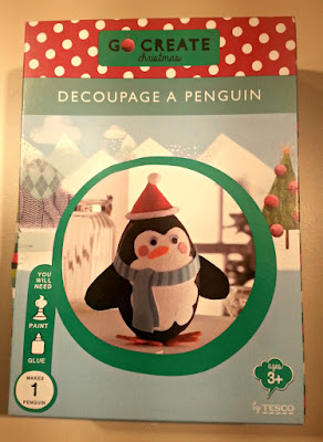 Go Create Decoupage Penguin
