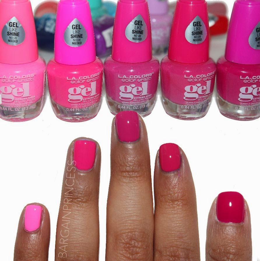 La Looks Nail Polish: BargainPrincess: LA COLORS (Color Craze) Gel Polish