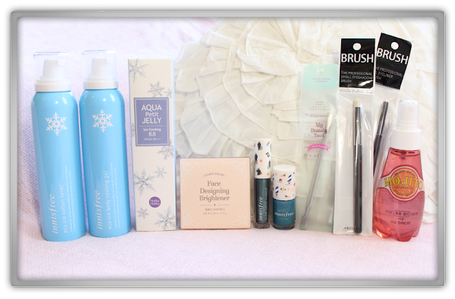 Jolse Innisfree The Saem Etude house Aritaum Holika Holika Haul Review beauty blogger makeup skincare