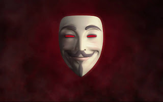 V For Vendetta Guy Fawkes Mask Anonymouse Symbol HD Wallpaper
