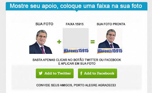 Melo e Paulo Marques Eleições 2016 POA