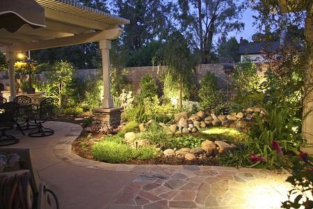 beautiful led landscape lighting for outdoor lights fixtures home. Black Bedroom Furniture Sets. Home Design Ideas