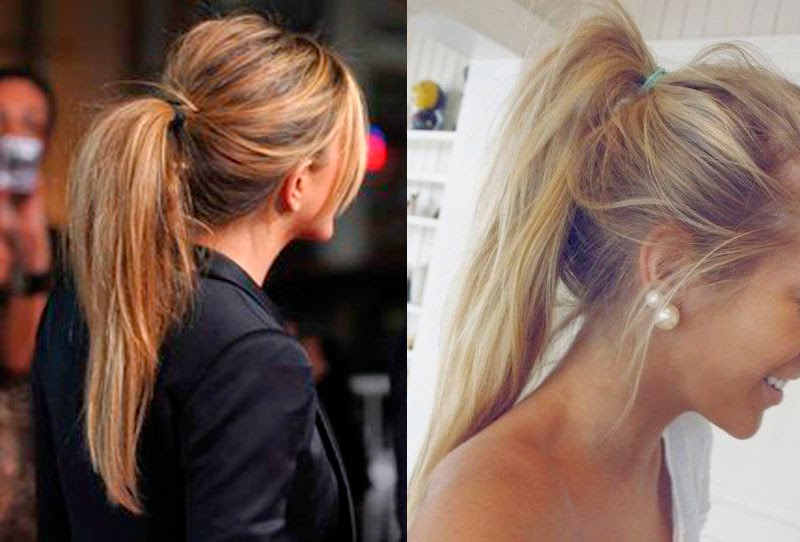 pony tail natural hair