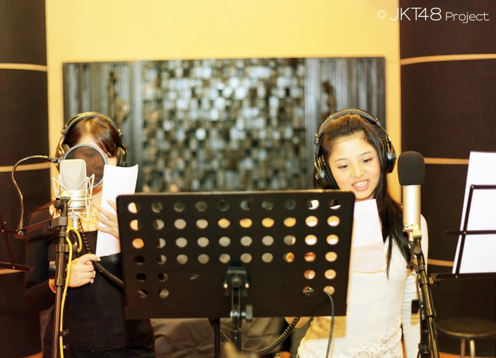Recording session Jeje JKT48