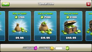 Trik Gems Gratis pada Game Clash of Clans
