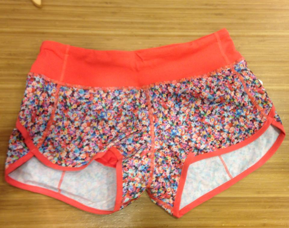 lululemon speed short prism petal
