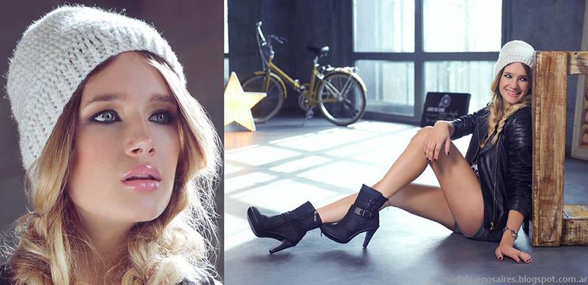 Moda otoño invierno 2014 zapatos, botas y botinetas. Lady Stork otoño invierno 2014.