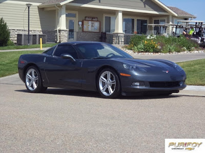 2009 Corvette at Purifoy Chevrolet