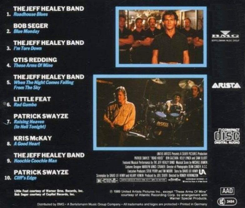 Band in the movie road house