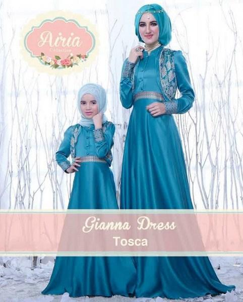 Koleksi Busana Muslim Pesta Anak Perempuan