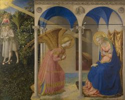 La Anunciación. Fra Angelico. 1430-1432