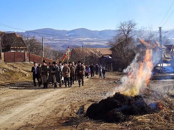 Farsangtemetés Alsósófalván - 2015
