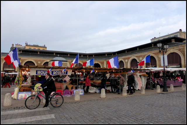 Marché market Notre-Dame Versailles